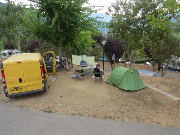 Picos campsite